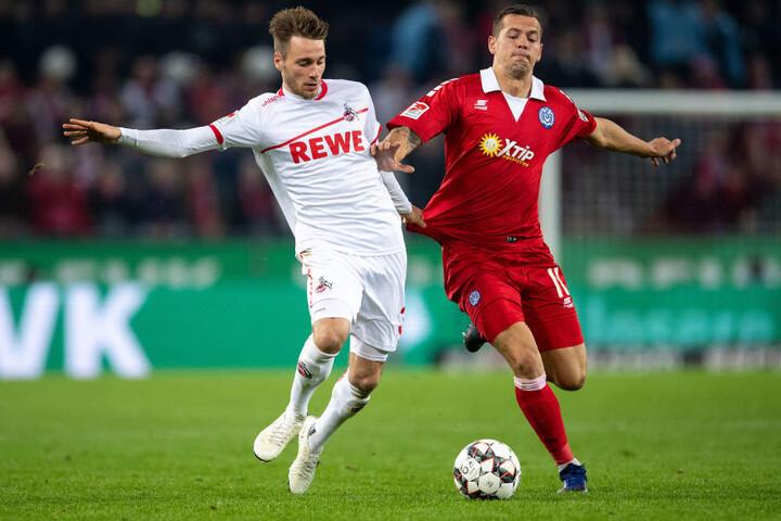 Für die FC-Talente um Matthias Bader (21, l.) lief die Hinrunde eher mäßig.