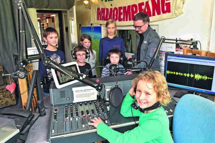 Bei Radio T sind Sendungen in Kinderhand.