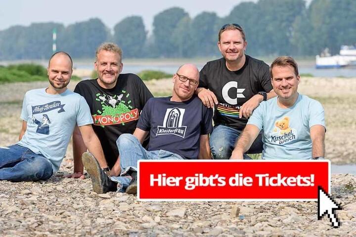 Tickets gibt es ab 24 Euro ermäßigt zzgl. VVK-Gebühren.