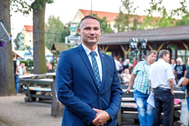 Der Unterlegene AfD-Kandidat Sebastian Wippel.