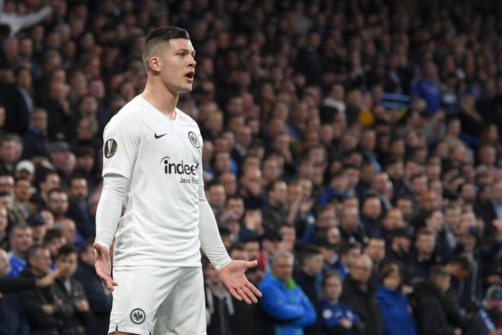 Luka Jovic, dessen Wechsel von Eintracht Frankfurt zu Real Madrid am Dienstag bekanntgegeben wurde, landete auf Rang zwei der Spielerwertung.