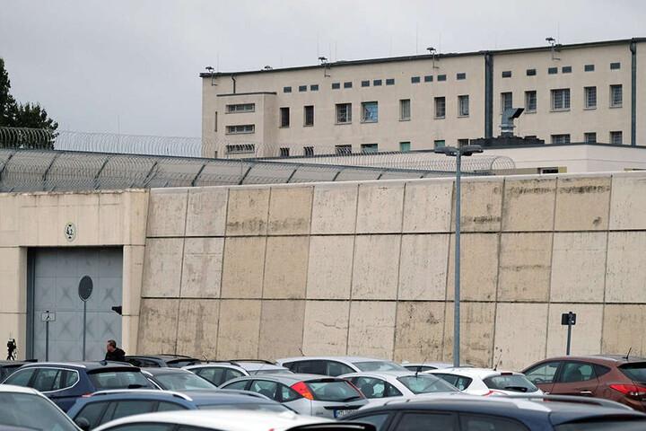Die JVA in Leipzig. Hier wurde Dschaber in seiner Zelle tot aufgefunden.