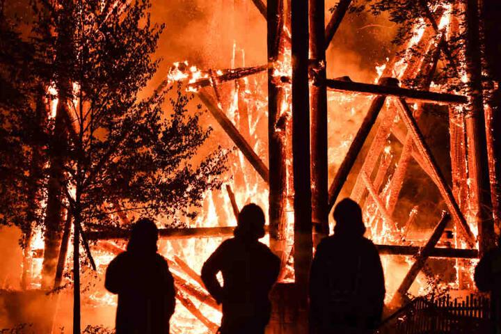 Im Oktober 2017 wurde das beliebte Ausflugsziel ein Raub der Flammen.