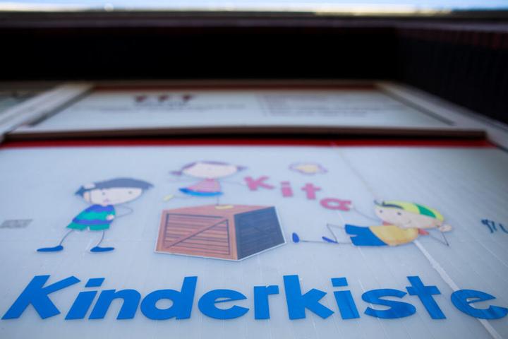 """Der Kindergarten """"Kinderkiste"""" nimmt nur noch geimpfte Kinder auf."""