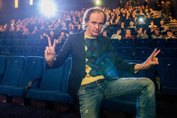 """Die Dresden-Premiere von """"Schubert in Love"""" des Dresdner  Comedians Olaf Schubert - hier im Ufa-Kristallpalast."""