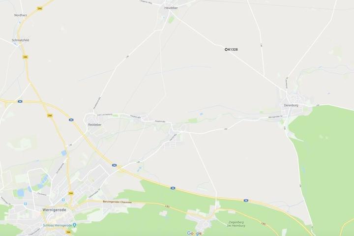 Der Unfall ereignete sich auf der K1328 zwischen Heuder und Derenburg im Landkreis Harz.