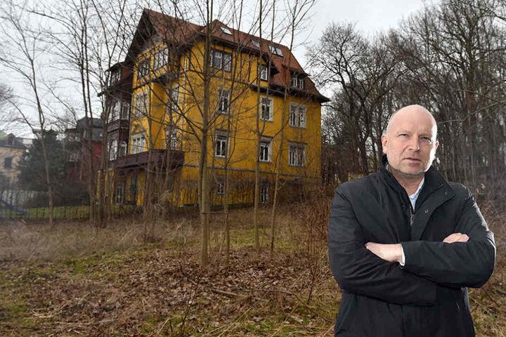 TreuWoBau-Chef Holger Siering (52) ist sauer auf die Stadt.