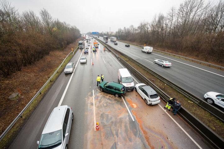 Zwei Spuren Richtung Hannover sind wieder frei.
