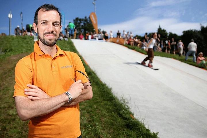Auf dem Sprung: Mr.-Snow-Chef Jens Reindl (38) will in China durchstarten.