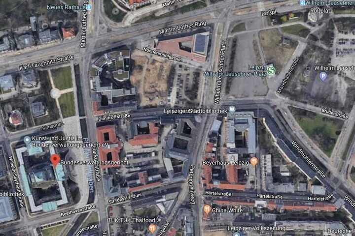 Die Demo wird am Bundesverwaltungsgericht an der Harkortstraße enden.