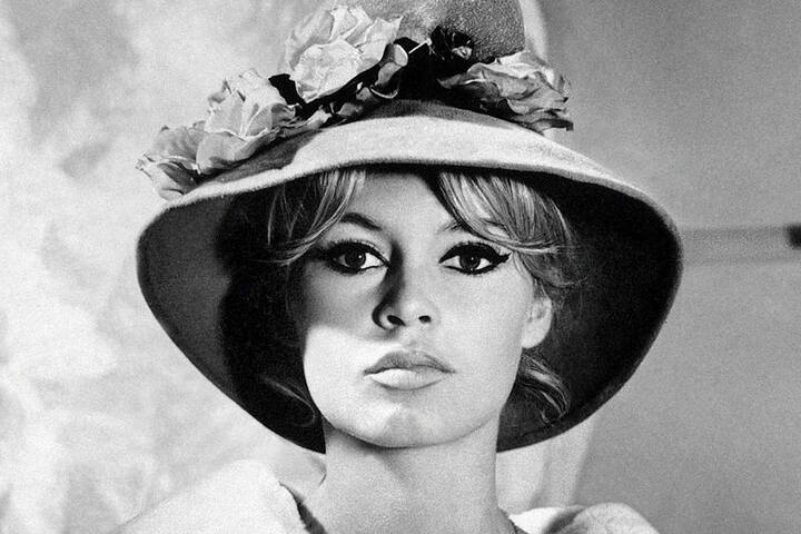 So sah die Film-Diva Brigitte Bardot 1961 aus.