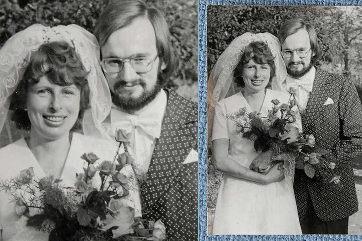 Am 1. November 1975 hatten die beiden auf dem Standesamt in der Villa Weigang geheiratet.