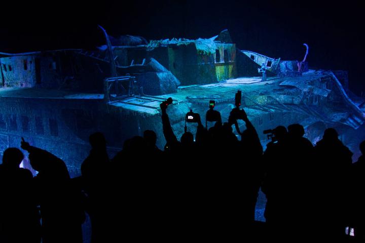 """Atem anhalten. So nah kommt man selten an die """"Titanic""""..."""