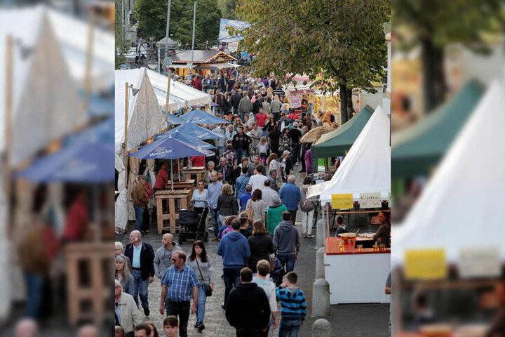 Bünde lädt zum verkaufsoffenen Sonntag während des Zwiebelmarktes ein.