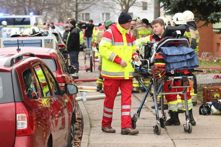 Die Verletzten wurden in umliegende Krankenhäuser verbracht.