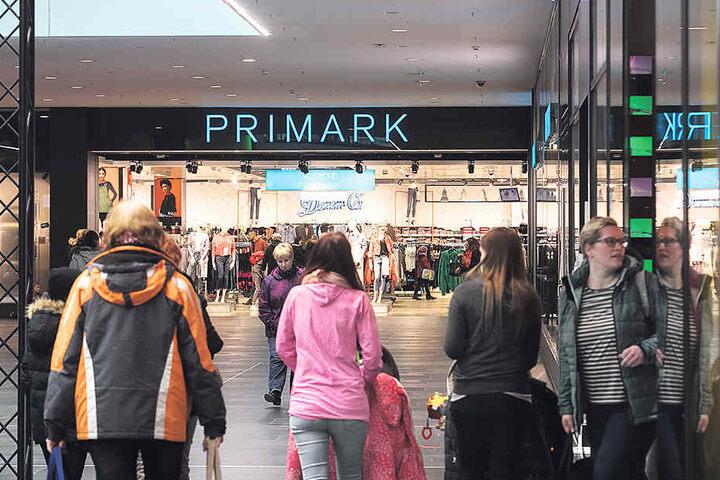 Primark in der Centrum Galerie in Dresden.