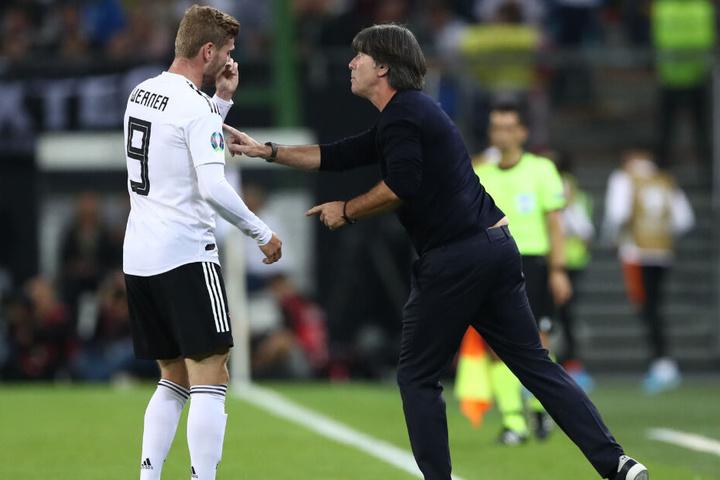 Vor seiner Entscheidung holte sich Timo Werner (23) auch Rat von Bundestrainer Joachim Löw.