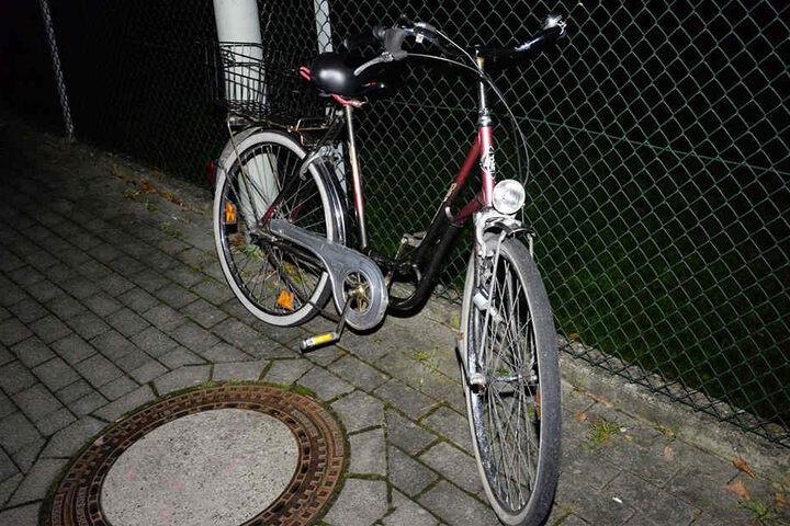Mit diesem Rad war die 39-jährige Frau unterwegs.