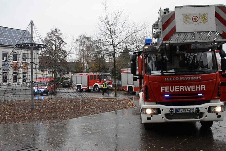 Nach einer Stunde war der Einsatz für die Feuerwehrleute beendet.