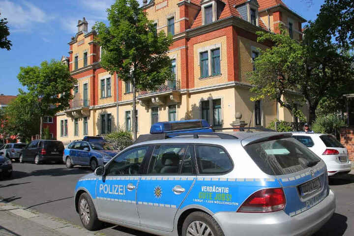 Die grausige Tat geschah in der Waldemarstraße 16 in Dresden-Kaditz.