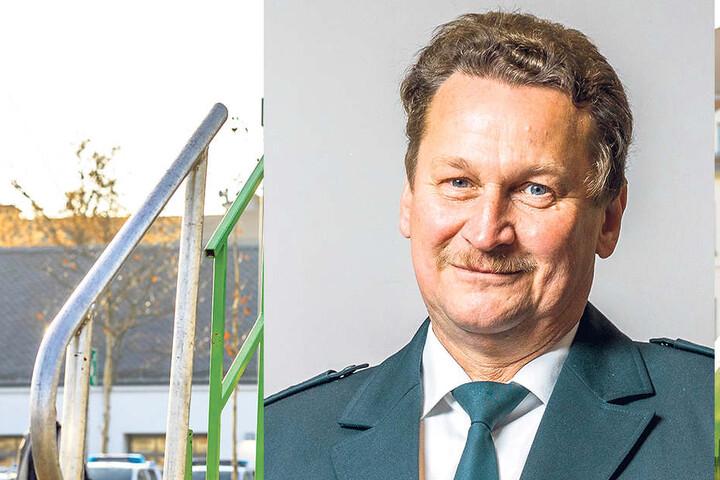 Hauptkommissar Uwe Müller (56) von der Dresdner Polizei