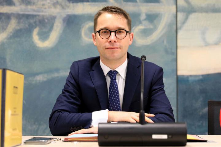 Ausschussvorsitzender Sebastian Striegel möchte eine lückenlose Aufklärung der Geschehnisse am 9. Oktober.