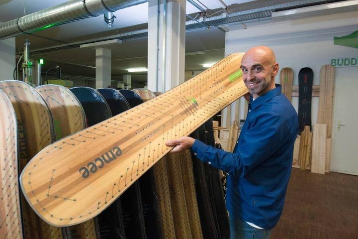 Vertriebschef Rainer Sölch (54) liefert die BuddyBuddy.
