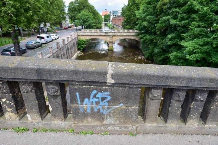 Die fast 150 Jahre alte Brücke der Kaßbergauffahrt wird ab Frühjahr 2018 umfassend saniert.
