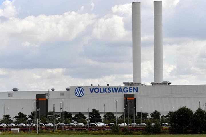 Das VW-Werk in Zwickau.