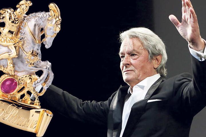 Er gehört zu den Stars des internationalen Films: Alain Delon (83) wird für sein Lebenswerk geehrt mit dem St. Georgs Orden.