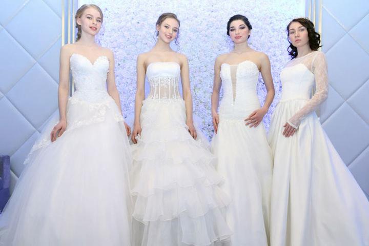 Die neusten Trends in Sachen Hochzeitskleid gibt es in Detmold zu sehen.