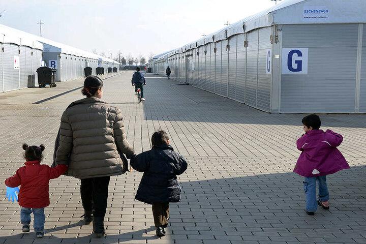 Erstaufnahme in Leipzig 2016: Die Zahl der neu ankommenden Flüchtlinge ist seitdem drastisch gesunken.