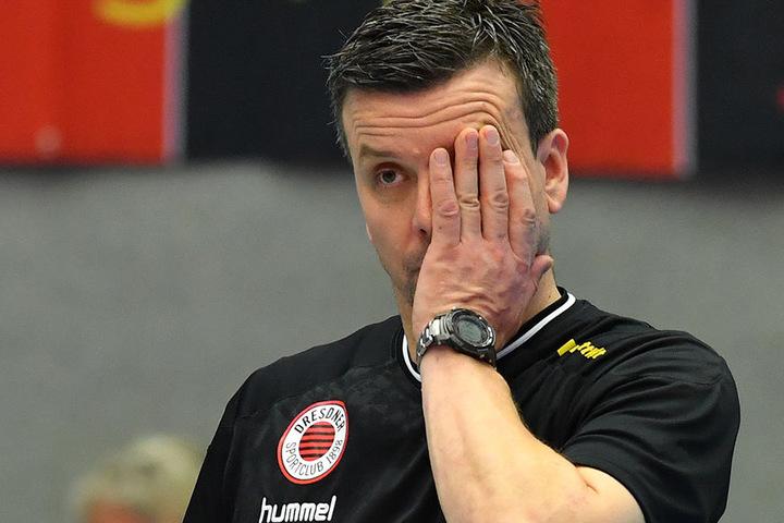 Hat einige Sorgenfalten auf der Stirn: Trainer Alexander Waibl.
