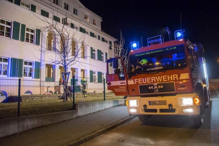 Die Feuerwehr konnte den Brand schnell löschen.