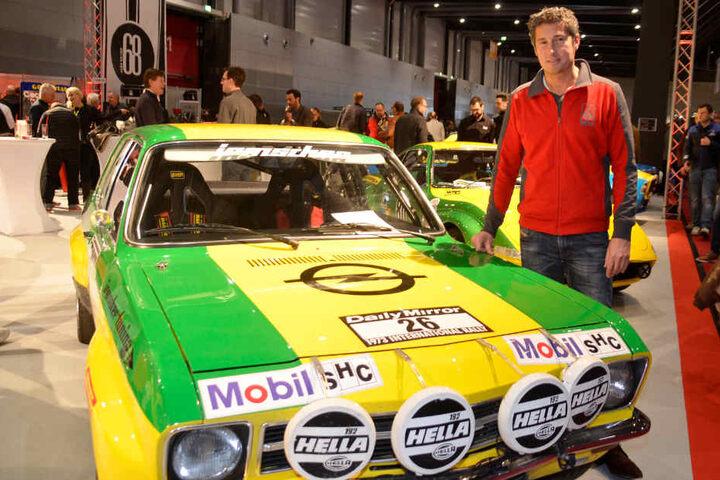 Auch der Opel-Veredler Irmscher durfte auf der Messe nicht fehlen. Im Bild: Der Sohn des Firmengründers und jetziger Chef Günther Irmscher.