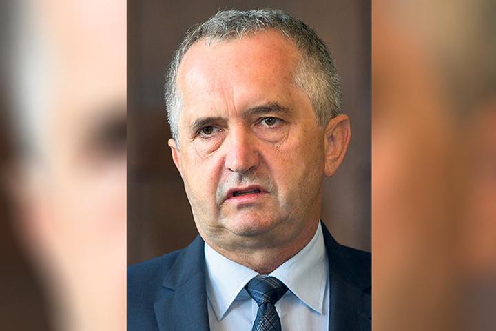 Ist strikt gegen Abschuss: Sachsens Umweltminister Thomas Schmidt (56,  CDU).