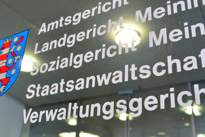 Im Landgericht in Meiningen wird der Fall verhandelt.