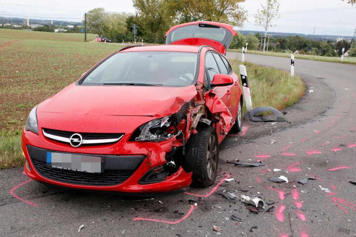 Der Unfall ereignete sich am Donnerstagmorgen.