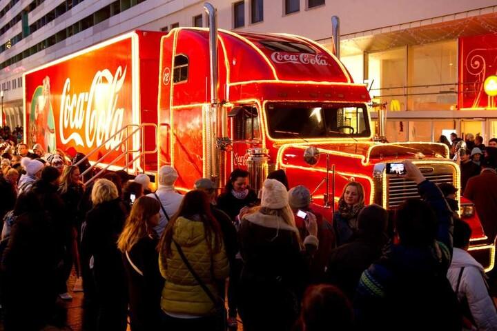 Schon 2013 war der Truck in Dresden zu Gast.