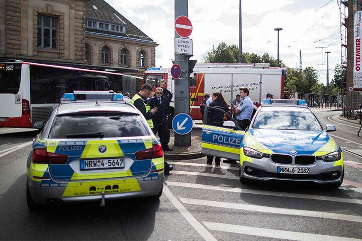 Andere Personen seien nicht gefährdet, sagte die Polizei.