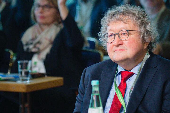 Politikwissenschaftler Werner Patzelt als Gast in der Landesvertreterversammlung der sächsischen CDU.