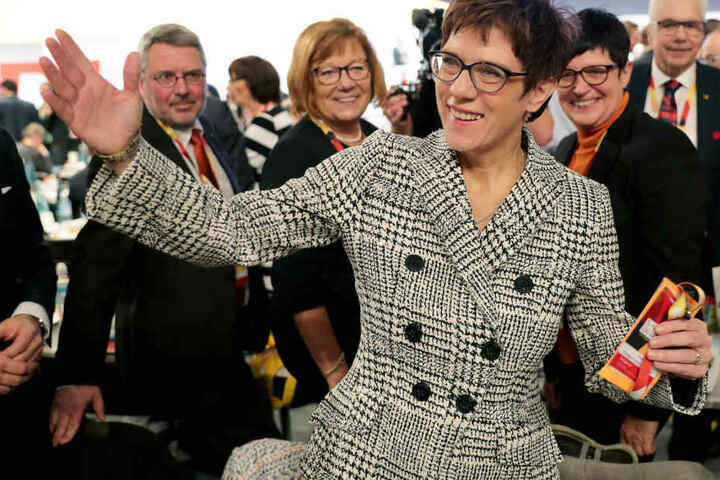 Annegret Kramp-Karrenbauer wurde auf dem CDU-Parteitag in Hamburg zur Vorsitzenden gewählt.