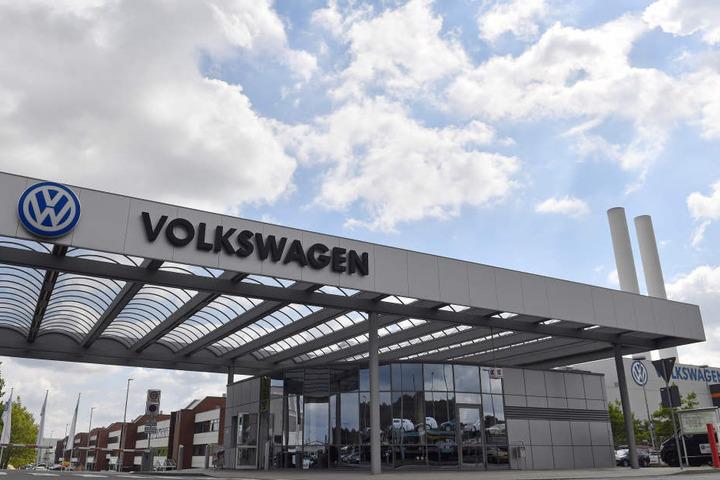 Wird zum modernen Vorzeigewerk: VW in Zwickau.