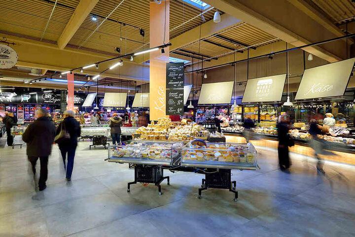 Ob Metzger, Bäcker, Fisch- oder Käsehändler: In der Markthalle findet sich für alles ein Plätzchen.