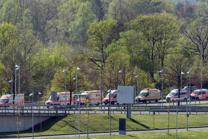 Einige überlebende Verletzte wurden von Madeira nach Köln geflogen.