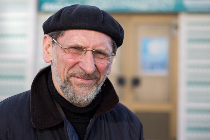 Abdullah Uwe Wagishauser, Vorsitzender der Ahmadiyya-Gemeinde, im Jahr 2015.