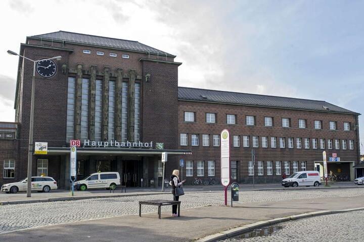 Die Schießerei ereignete sich im Zwickauer Hauptbahnhof.