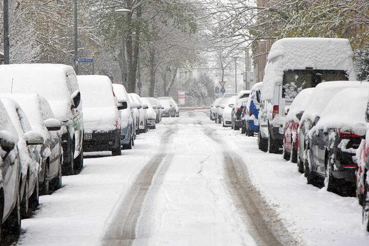 Nicht jede Straße hat beim Winterdienst in Erfurt oberste Priorität.