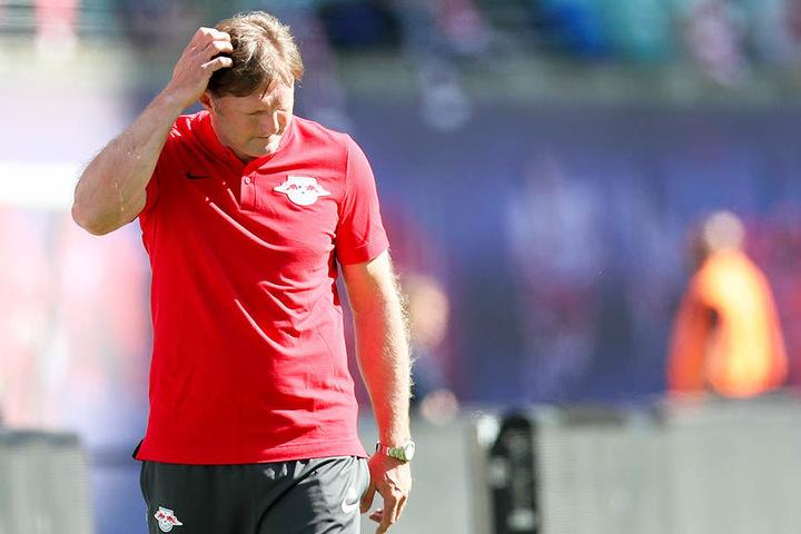 Ralph Hasenhüttl ist nicht länger Trainer von Rasenballsport Leipzig.