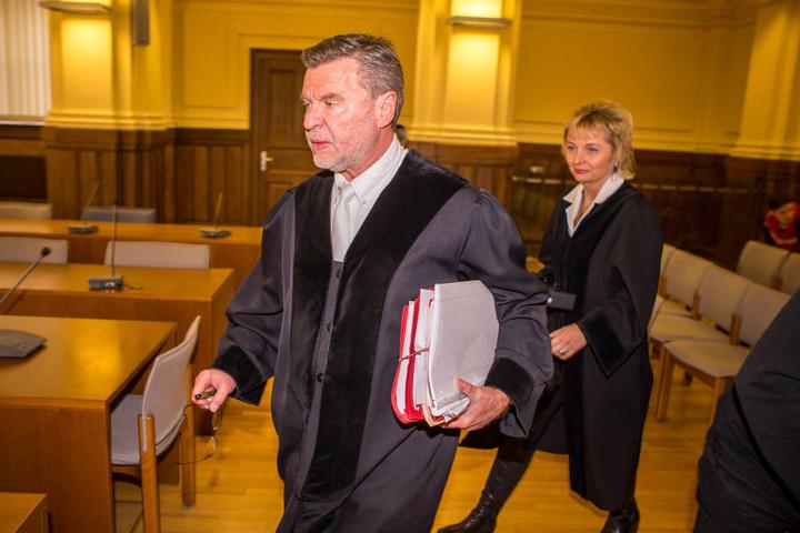 Er führt den Prozess: Norbert Göbel, vorsitzender Richter der Jugendschutzkammer.